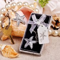 Brilliant Starfish Key Ring Favours